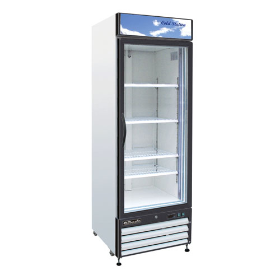 14 CuFt. Glass Door Refrigerator