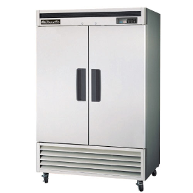 2 Door Stainless Freezer