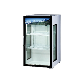 7 CuFt. Countertop Glass Door Refrigerator