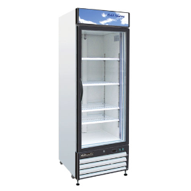 24 CuFt Glass Door Refrigerator